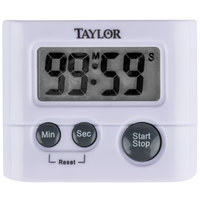 Taylor 5827-21 White Classic Digital Timer