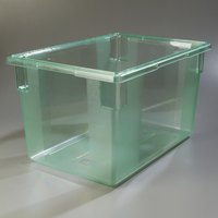 Carlisle 10624C09 StorPlus Green Food Storage Box - 26 inch x 18 inch x 15 inch