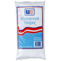 2 lb. Bag 10X Confectioners Sugar - 12/Case