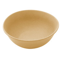 Elite Global Solutions ECO72 Greenovations 36 oz. Rattan-Colored Round Bowl
