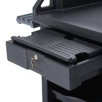 Cambro VCS32KEYT110 Black Versa Cart Keyboard Tray