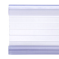 Clear Plastic Label Holder 19 inch x 1 1/4 inch