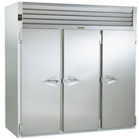 Traulsen RIH332LP-FHS Stainless Steel 117.5 Cu. Ft. Three Section Roll-Thru Heated Holding Cabinet for 66 inch Pan Racks - Specification Line