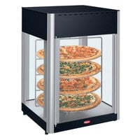 Hatco FDWD-2 Flav-R-Fresh 2 Door Humidified Impulse Hot Food Display Cabinet With 4 Tier Circle Rack