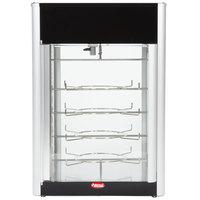 Hatco FDWD-2 Flav-R-Fresh 2 Door Humidified Impulse Hot Food Display Cabinet With 4 Tier Circle Rack