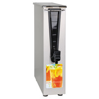 Bunn TD3T-N 3.5 Gallon Narrow Iced Tea Dispenser with Solid Lid