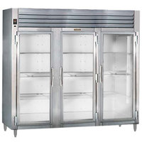 Traulsen RHT332WUT-FHG Stainless Steel 79 Cu. Ft. Three Section Glass Door Reach In Refrigerator - Specification Line