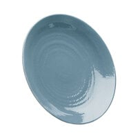 Elite Global Solutions D117RR Pebble Creek Abyss-Colored 11 7/8 inch Round Plate