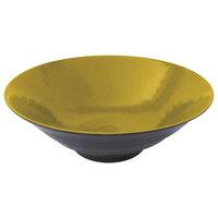 Elite Global Solutions D1010RR Pebble Creek Olive Oil-Colored 55 oz. Bowl
