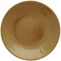 Elite Global Solutions D638RR Pebble Creek Tapenade-Colored 6 3/8 inch Round Plate
