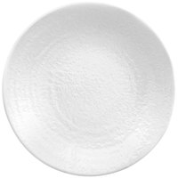 Elite Global Solutions D10RR Pebble Creek White 10 inch Round Plate