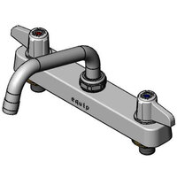 Equip by T&S 5F-8CLX08 Deck Mount Faucet with 8 inch Centers and 8 inch Swing Nozzle
