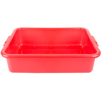 Vollrath 1511-C02 Red Polypropylene 5 inch Deep Perforated Drain Box
