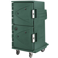 Cambro CMBH1826TTR192 Granite Green Camtherm Electric Food Holding Cabinet with Security Package Tall Profile - Hot Only