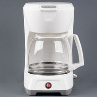 Proctor Silex 43601 White 12 Cup Coffee Maker