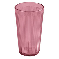 Carlisle 402055 Rose Crystalon SAN Tumbler 20 oz. - 48 / Case
