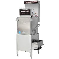CMA Dishmachines CMA-180-VL Single Rack High Temperature Ventless 3-Door Dishwasher - 208/240V, 1 Phase