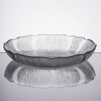 Cardinal Arcoroc J0226 15 oz. Fleur Glass Soup / Deep Salad Plate / Bowl   - 6/Pack