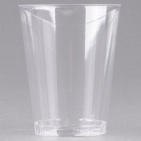 Fineline Savvi Serve 408 8 oz. Tall Clear Hard Plastic Tumbler - 20/Pack