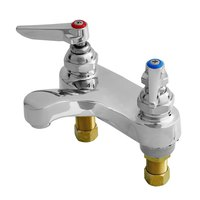 T&S B-0871-CR 2.2 GPM Deck Mount Centerset Mixing Faucet with 4 inch Centers and Cerama Cartridges