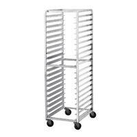 Advance Tabco CFL10 Spec Line Front Load Aluminum Bun Pan Oven Rack - 10 Pan Capacity