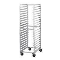 Advance Tabco CFL20 Spec Line Front Load Aluminum Bun Pan Oven Rack - 20 Pan Capacity