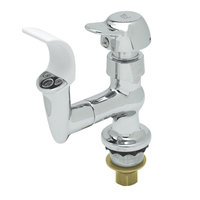 T&S B-2360-03-PA Vandal Resistant Bubbler with Flip Up Handle, Brass Mouth Guard, and Anti-Rotation Pins