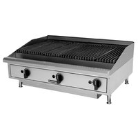 Toastmaster TMRC36 36 inch Radiant Charbroiler - 90,000 BTU