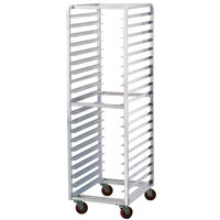 Advance Tabco PR15-4W 15 Pan End Load Bun / Sheet Pan Rack - Assembled