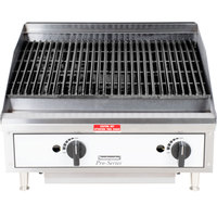 Toastmaster TMRC24 24 inch Radiant Charbroiler - 60,000 BTU