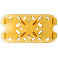 Vollrath 23400 Super Pan 1/4 Size Amber High Heat Drain Tray