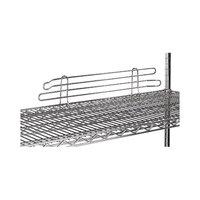 Advance Tabco SL-18 18 inch Chrome Wire Shelf Ledge