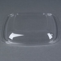 Sabert 52900B150 Bowl2 Clear Dome Lid for 64 oz. Square Bowls - 150 / Case