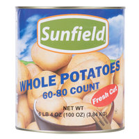 Medium Whole White Potatoes 60-80 Count #10 Can