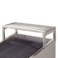 Bakers Pride XX80PT-08 Countertop Charbroiler Overhead Back Shelf