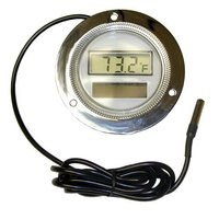 All Points 62-1041 Solar Digital Thermometer with 2 inch Dial and 3 1/2 inch Flange