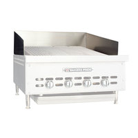 Bakers Pride G1081X Countertop Charbroiler Stainless Steel Splashguard
