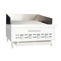Bakers Pride G1084X Countertop Charbroiler Stainless Steel Splashguard