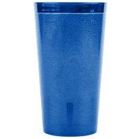 Carlisle 521647 16 oz. Royal Blue SAN Plastic Stackable Tumbler - 72/Case