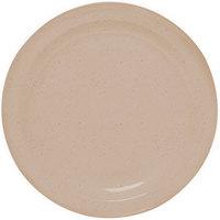 GET DP-505-S Sandstone 5 1/2 inch SuperMel Plate - 48/Case