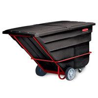 Rubbermaid FG103600BLA Black 2.0 Cubic Yard Tilt Truck (2300 lbs)