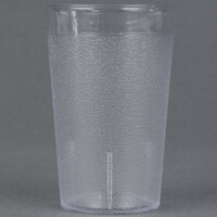 Carlisle 5109-207 Stackable 9.5 oz. Polycarbonate Tumbler - 24 / Case