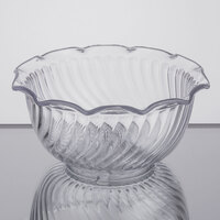 Carlisle 453507 Clear 8 oz. Tulip Berry Dish - 48/Case