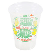 16 oz. Plastic We Squeeze to Please! Lemonade Cup - 1000 / Case
