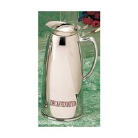 Bon Chef 4054DECAF 1.5 Qt. Insulated Stainless Steel Server with Decaffeinated Crest