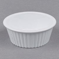 Carlisle 084402 White 2 oz. Fluted Ramekin - 48/Case