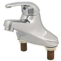 T&S BA-2711 Single Lever Centerset Faucet with 4 inch Centers and 4 inch Handle