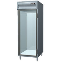 Delfield SSR1-G Stainless Steel 25 Cu. Ft. One Section Glass Door Reach In Refrigerator - Specification Line