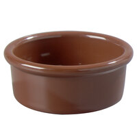Carlisle 036228 Lennox Brown 2.5 oz. Ramekin - 48/Case