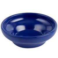 Carlisle 087560 Melamine 5 oz. Cobalt Blue Salsa Dish - 48/Case